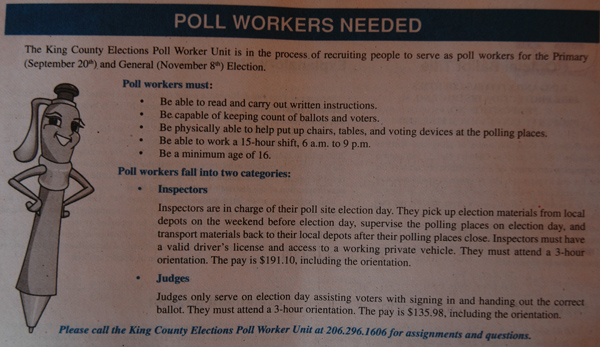 Pollworkerad